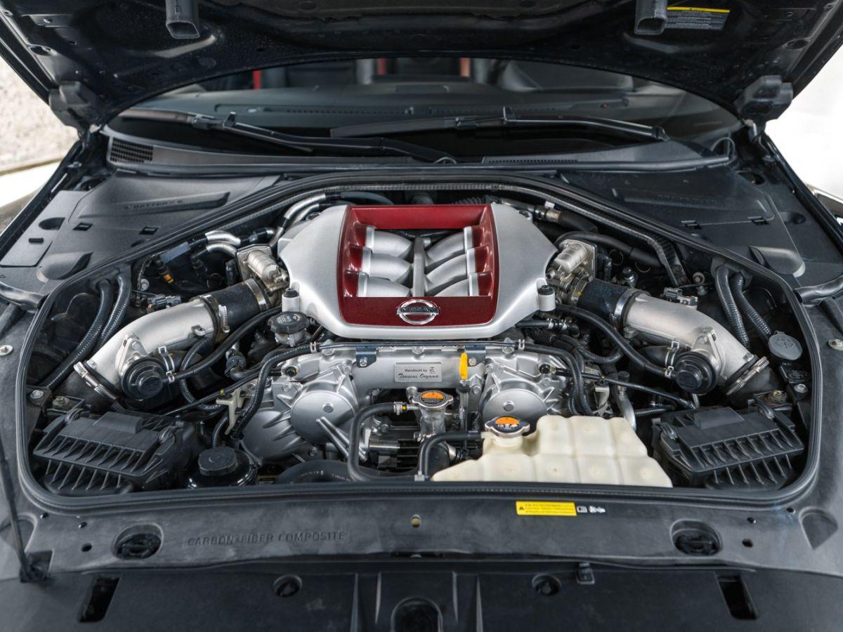 Nissan GT-R NISSAN GT-R (2) 3.8 V6 570 BLACK EDITION 4WD Noir Métallisé - 22