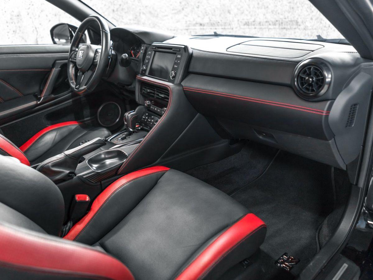 Nissan GT-R NISSAN GT-R (2) 3.8 V6 570 BLACK EDITION 4WD Noir Métallisé - 26