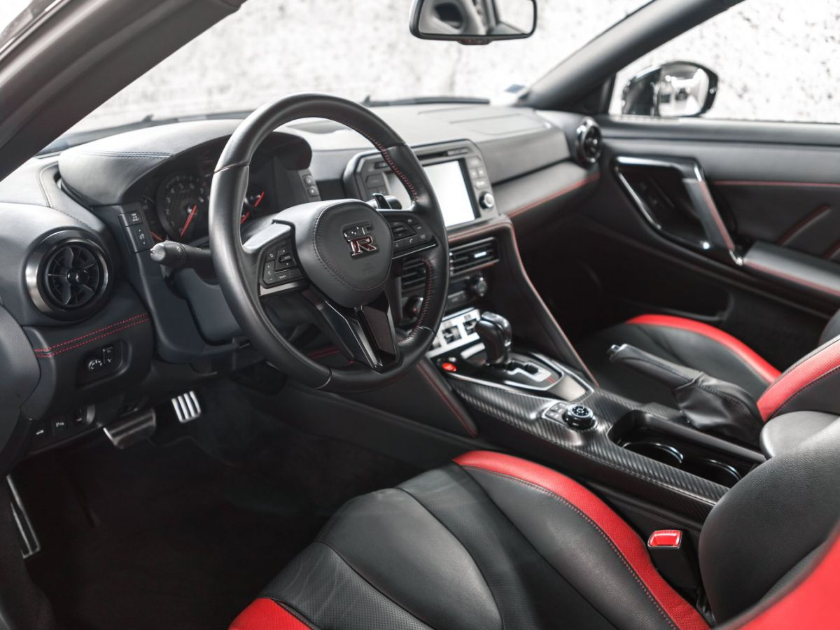 Nissan GT-R NISSAN GT-R (2) 3.8 V6 570 BLACK EDITION 4WD Noir Métallisé - 30