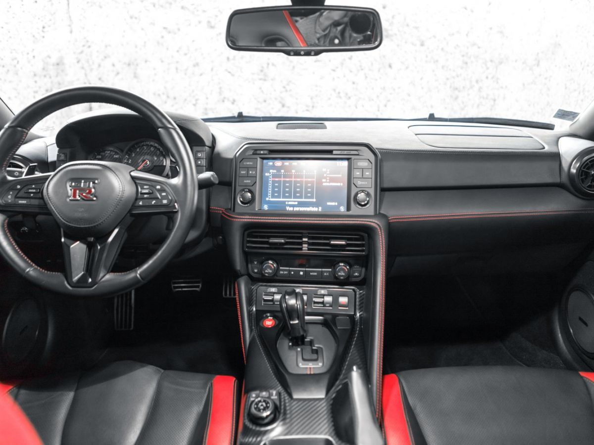 Nissan GT-R NISSAN GT-R (2) 3.8 V6 570 BLACK EDITION 4WD Noir Métallisé - 31