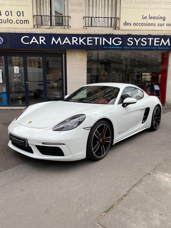 Porsche 718 Cayman S PDK Blanc - 1