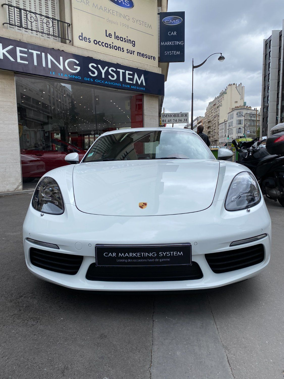 Porsche 718 Cayman S PDK Blanc - 2