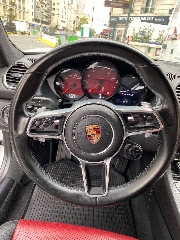 Porsche 718 Cayman S PDK Blanc - 14