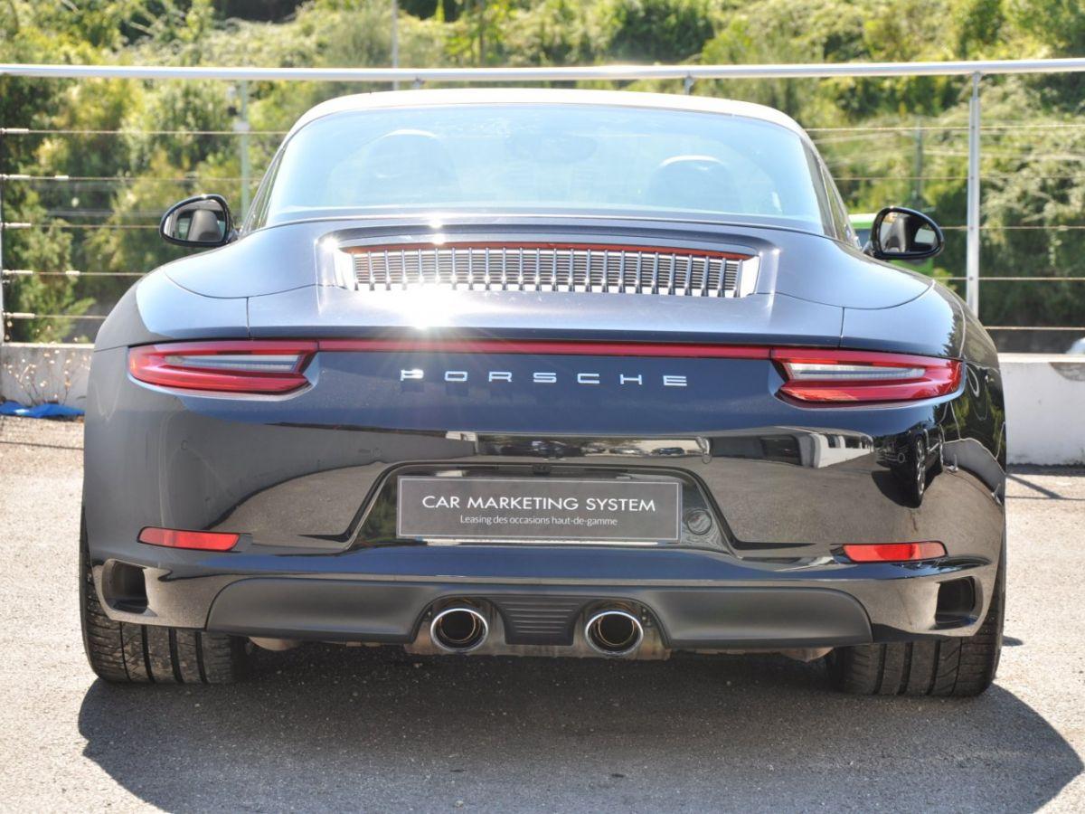 Porsche 911 991 (2) 3.0 TARGA 4S 420CH Noir - 7