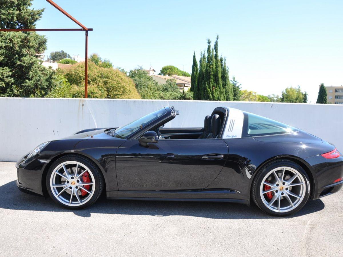 Porsche 911 991 (2) 3.0 TARGA 4S 420CH Noir - 4