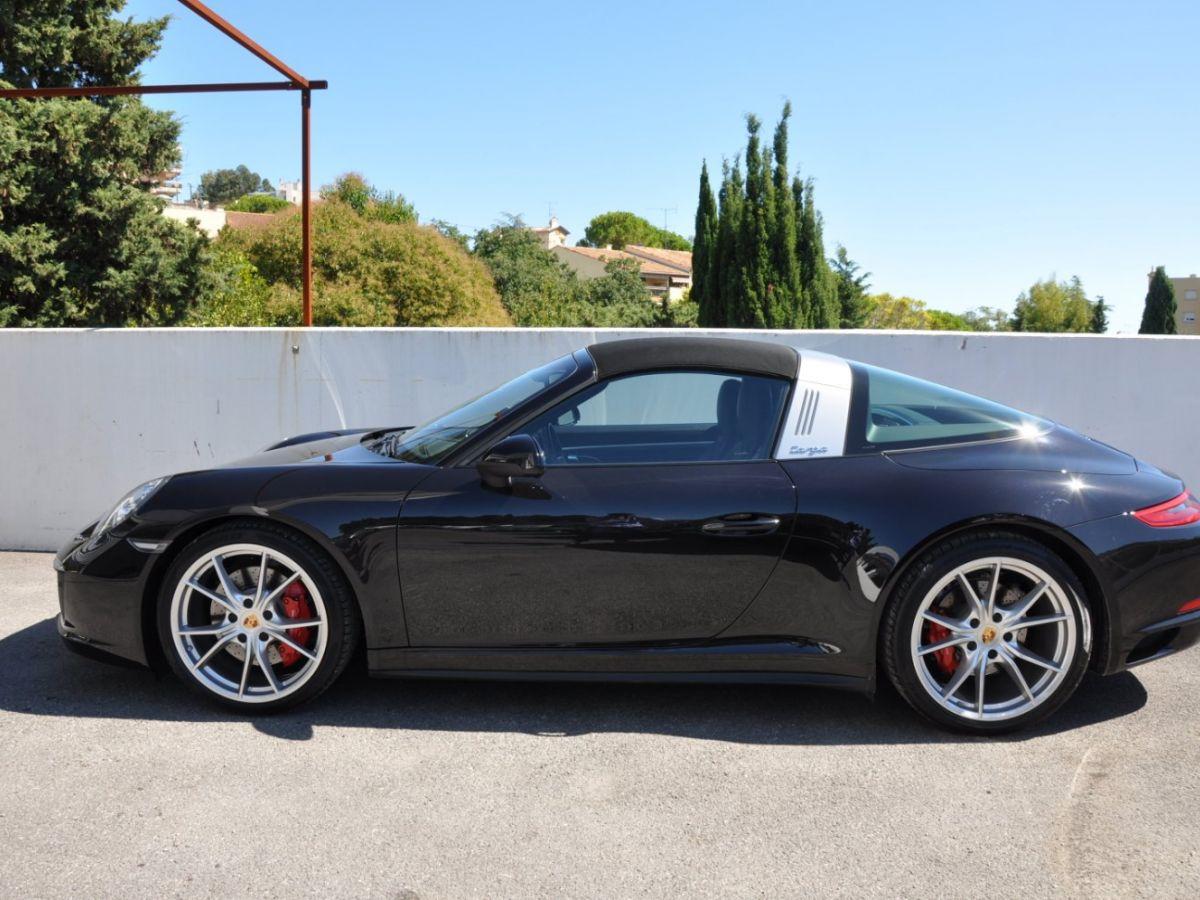 Porsche 911 991 (2) 3.0 TARGA 4S 420CH Noir - 5