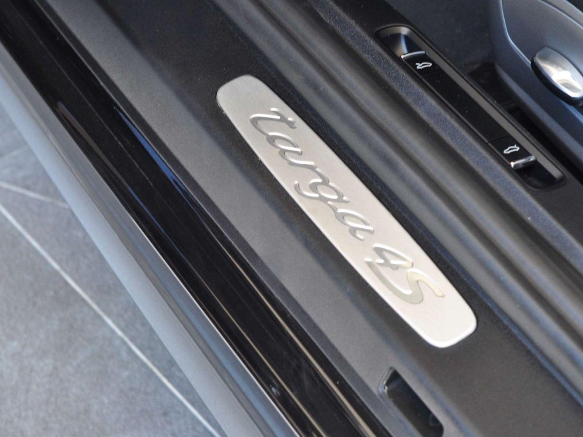 Porsche 911 991 (2) 3.0 TARGA 4S 420CH Noir - 35