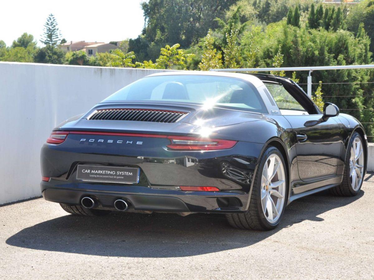 Porsche 911 991 (2) 3.0 TARGA 4S 420CH Noir - 8