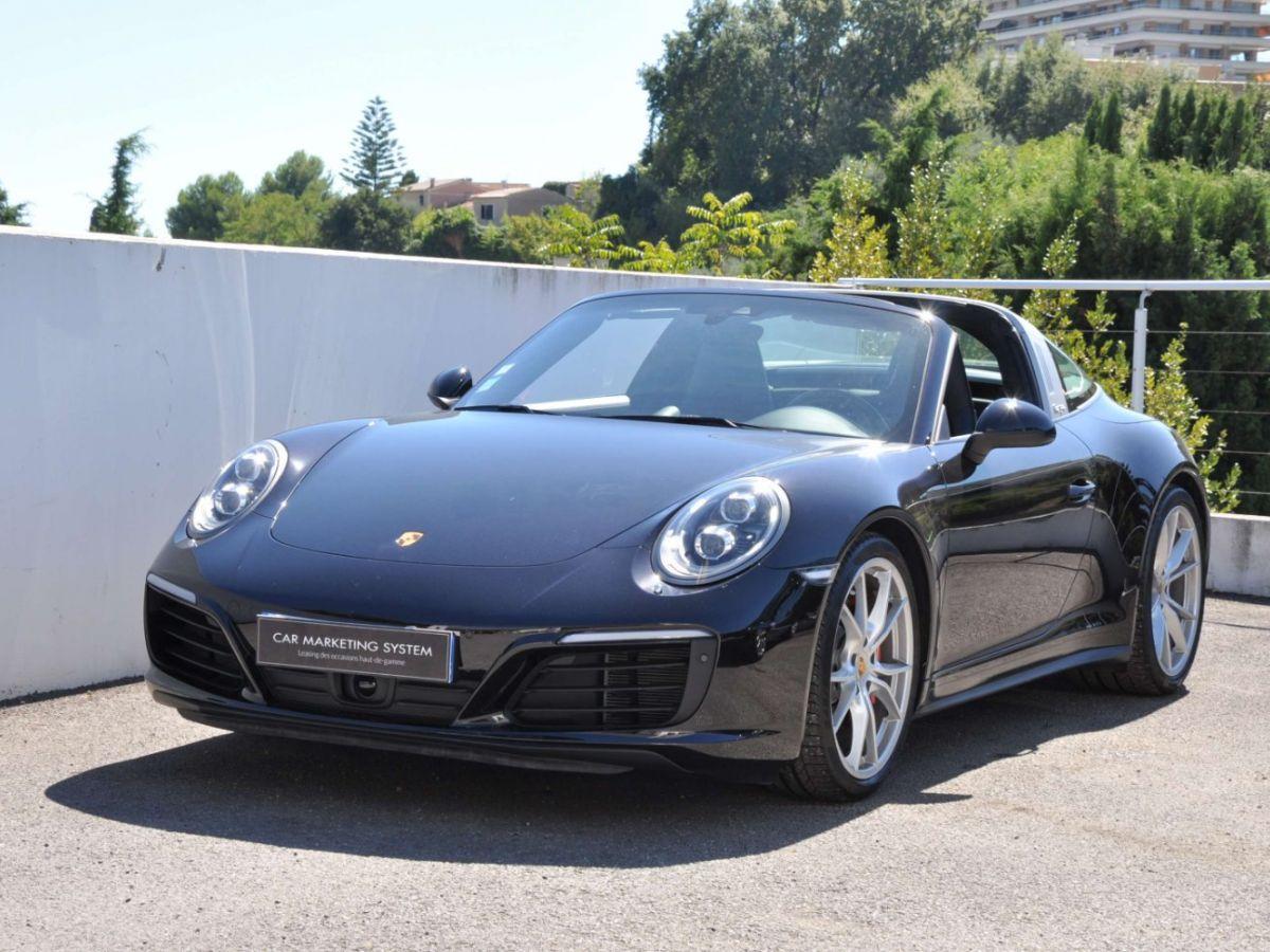 Porsche 911 991 (2) 3.0 TARGA 4S 420CH Noir - 1