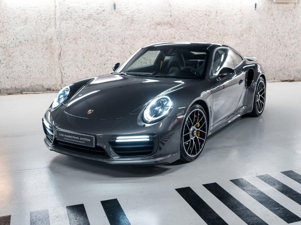 Porsche 911 (991) (2) 3.8 580 TURBO S Gris Foncé - 1