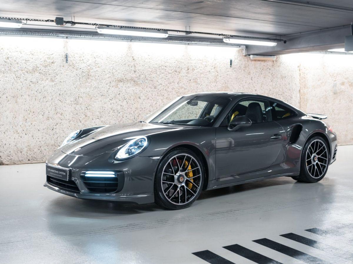 Porsche 911 (991) (2) 3.8 580 TURBO S Gris Foncé - 3