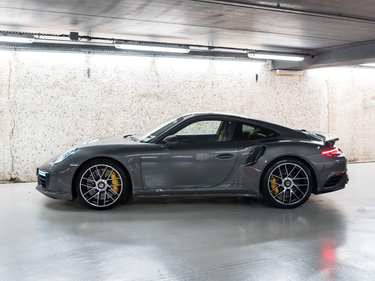 Porsche 911 (991) (2) 3.8 580 TURBO S Gris Foncé - 4