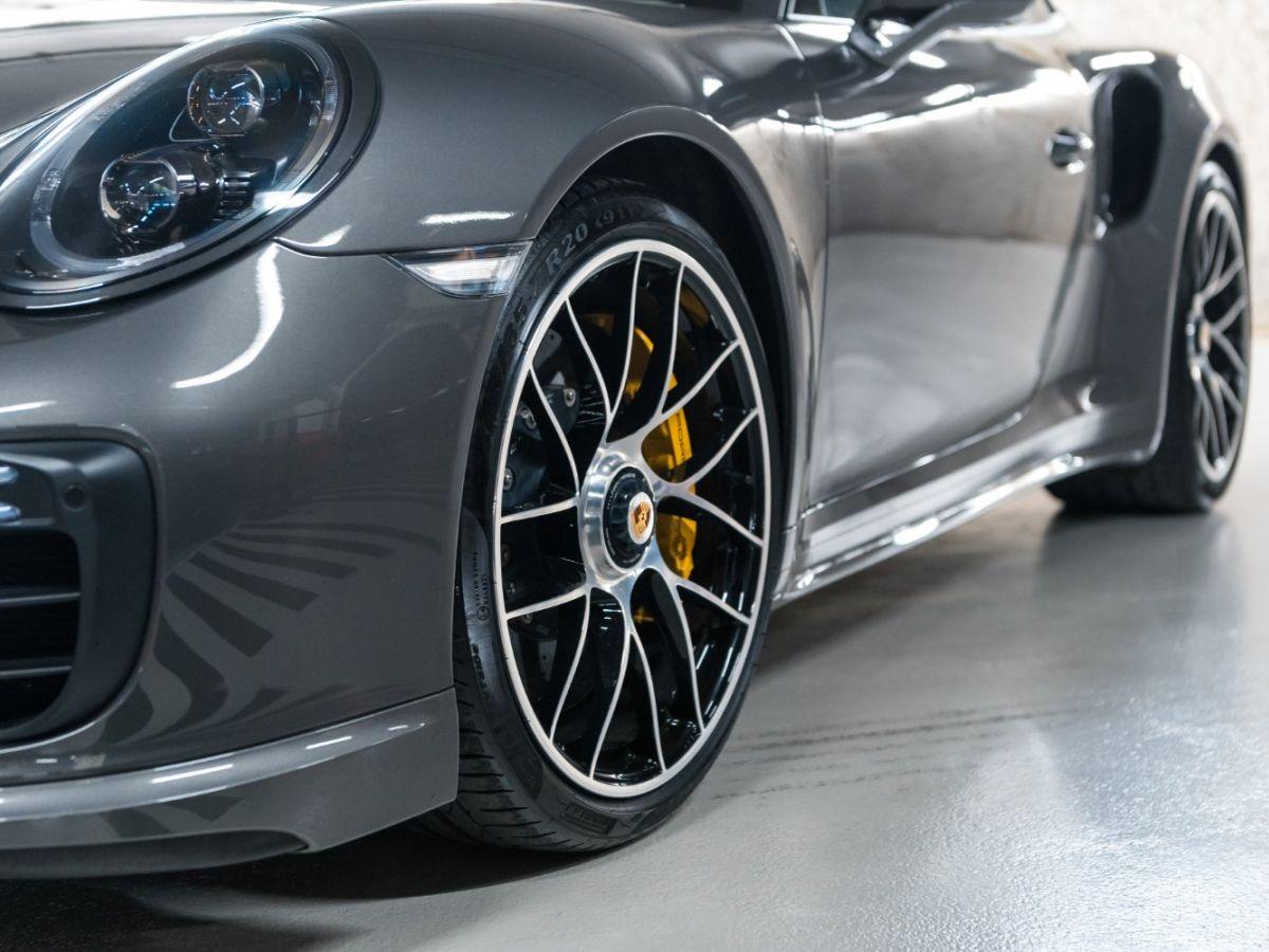 Porsche 911 (991) (2) 3.8 580 TURBO S Gris Foncé - 5