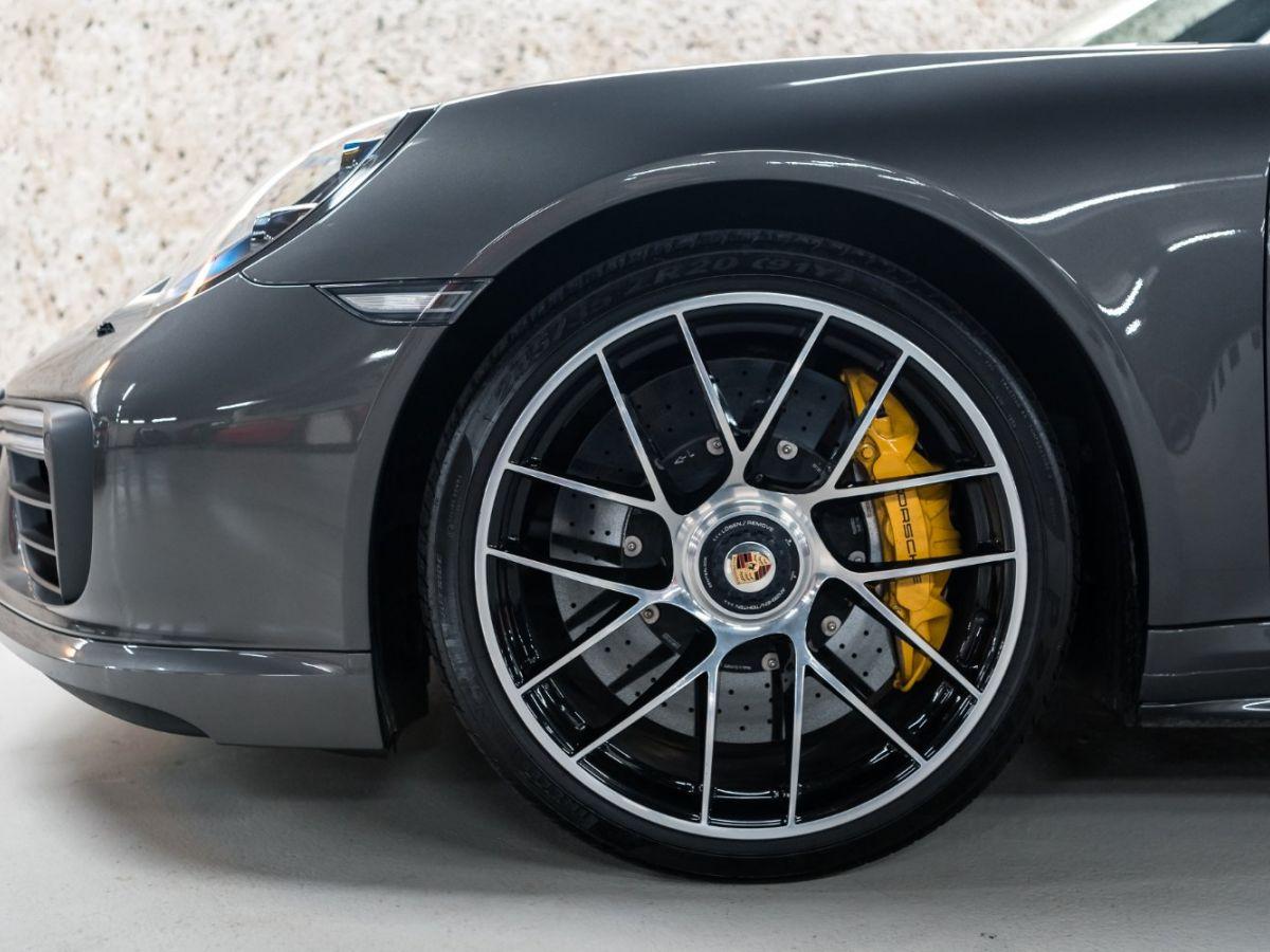 Porsche 911 (991) (2) 3.8 580 TURBO S Gris Foncé - 7