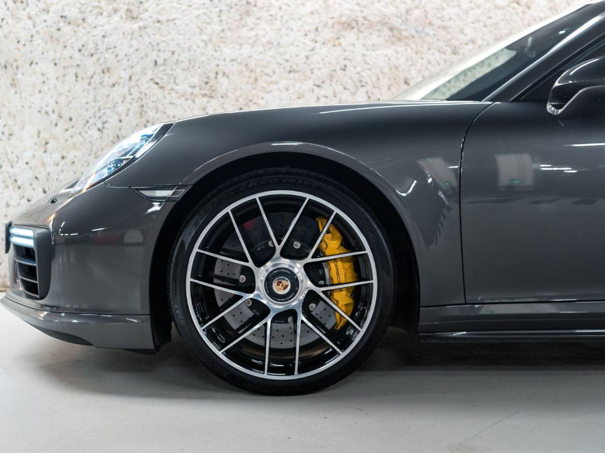Porsche 911 (991) (2) 3.8 580 TURBO S Gris Foncé - 8