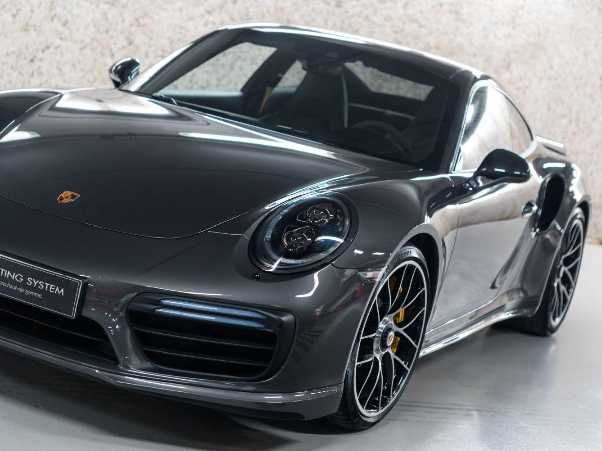 Porsche 911 (991) (2) 3.8 580 TURBO S Gris Foncé - 10