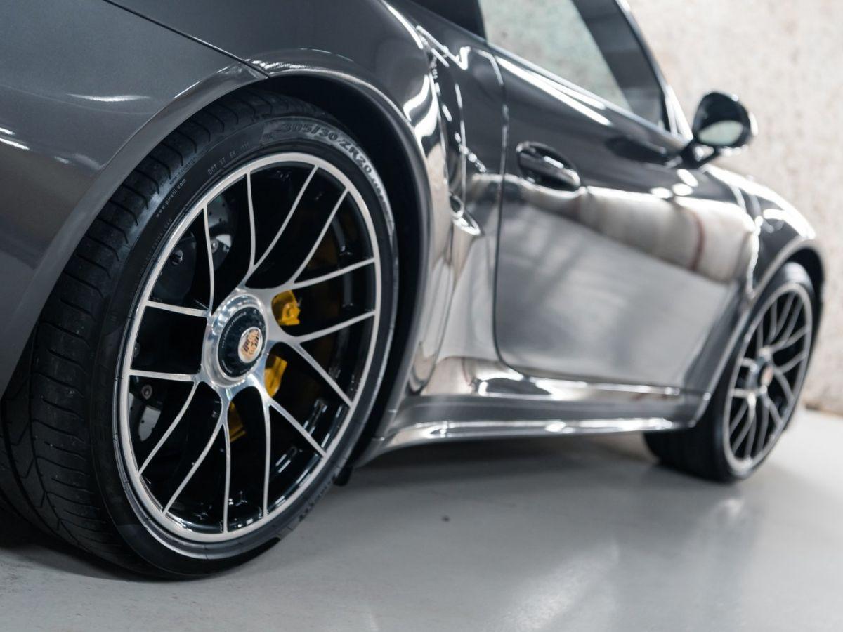 Porsche 911 (991) (2) 3.8 580 TURBO S Gris Foncé - 12