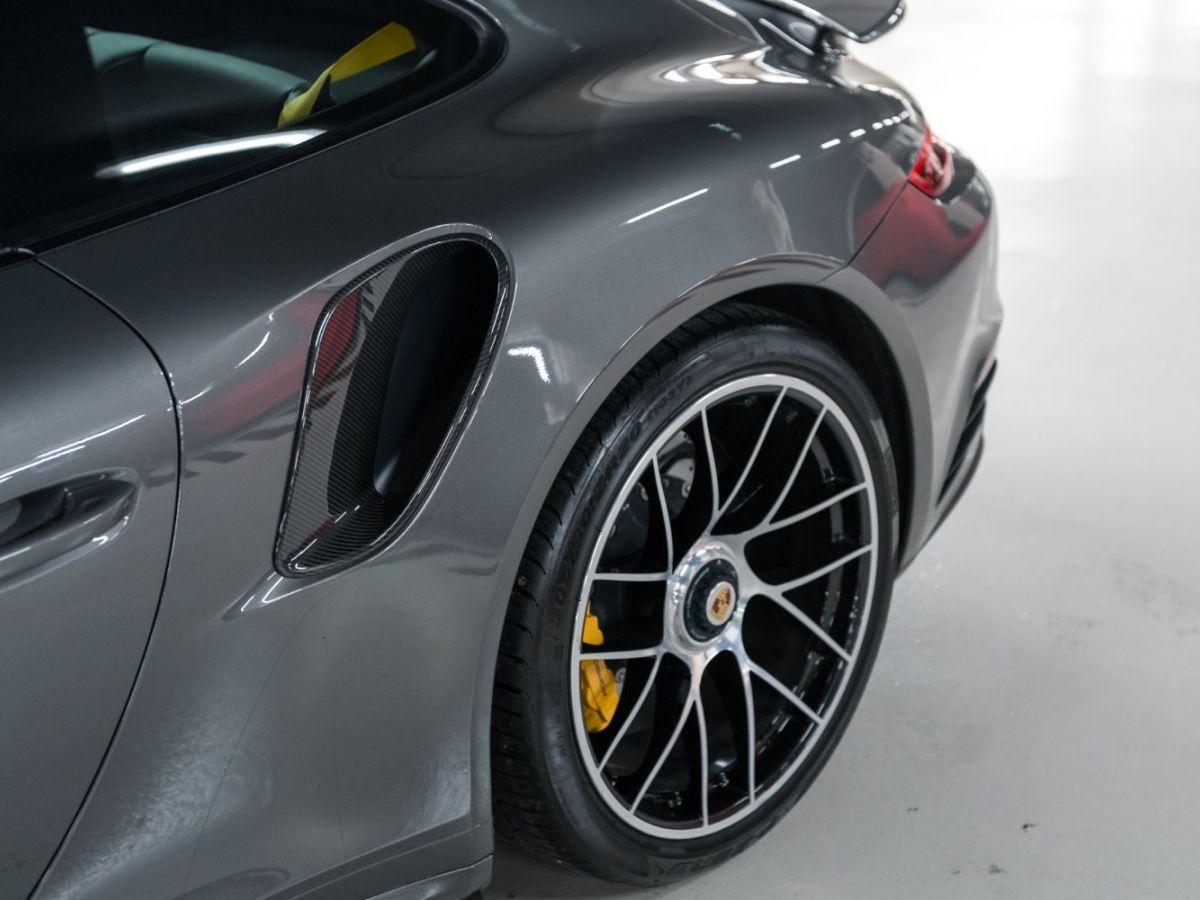 Porsche 911 (991) (2) 3.8 580 TURBO S Gris Foncé - 14