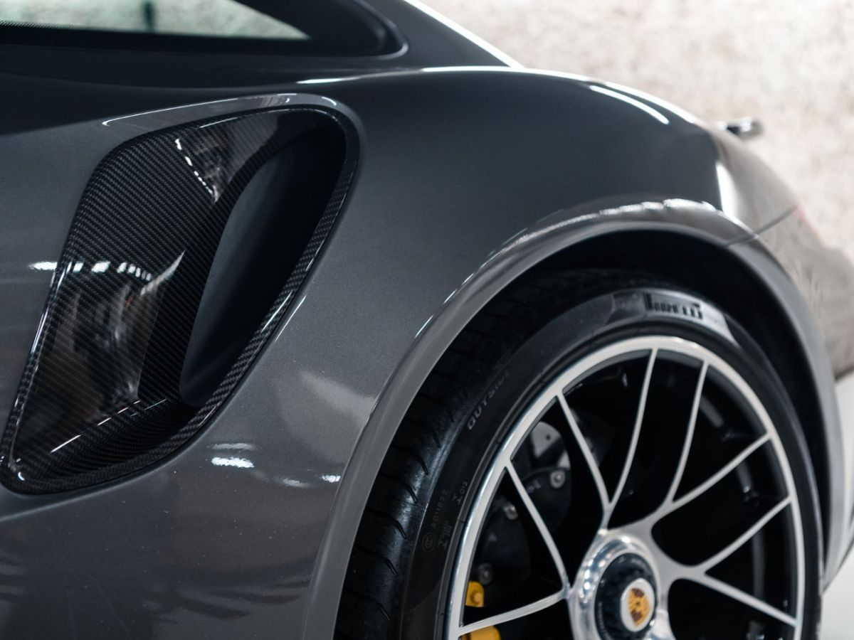 Porsche 911 (991) (2) 3.8 580 TURBO S Gris Foncé - 15