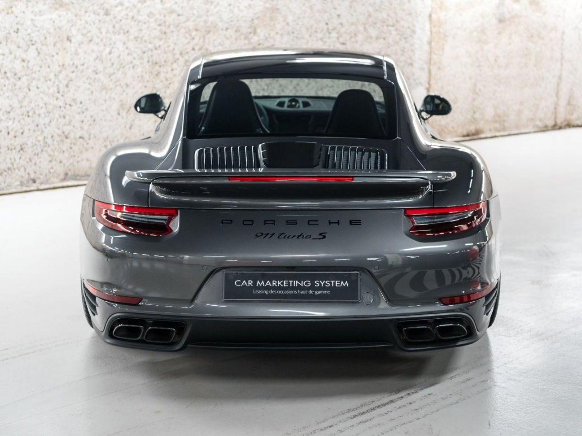 Porsche 911 (991) (2) 3.8 580 TURBO S Gris Foncé - 16