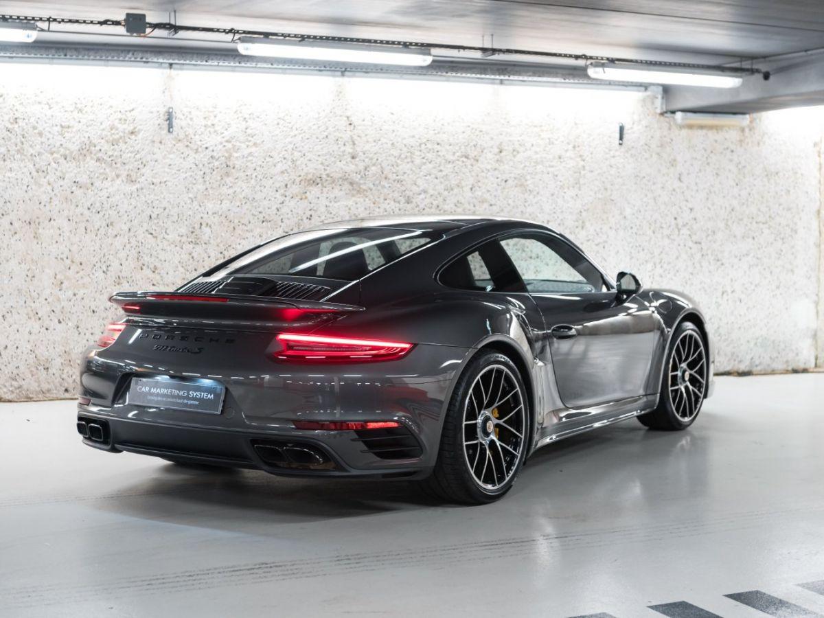 Porsche 911 (991) (2) 3.8 580 TURBO S Gris Foncé - 17