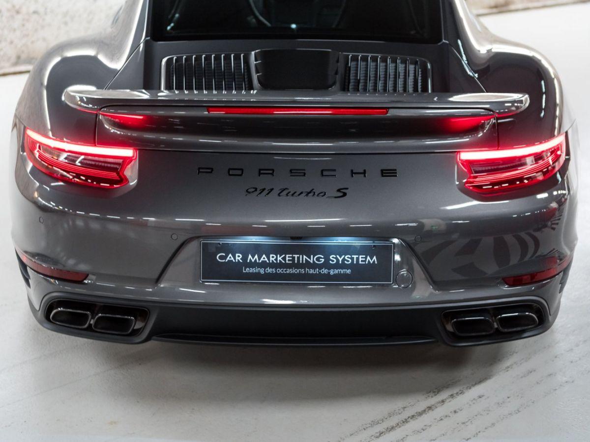 Porsche 911 (991) (2) 3.8 580 TURBO S Gris Foncé - 21