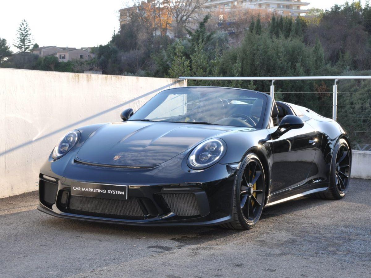 Porsche 911 991 (2) SPEEDSTER 4.0 Noir - 1