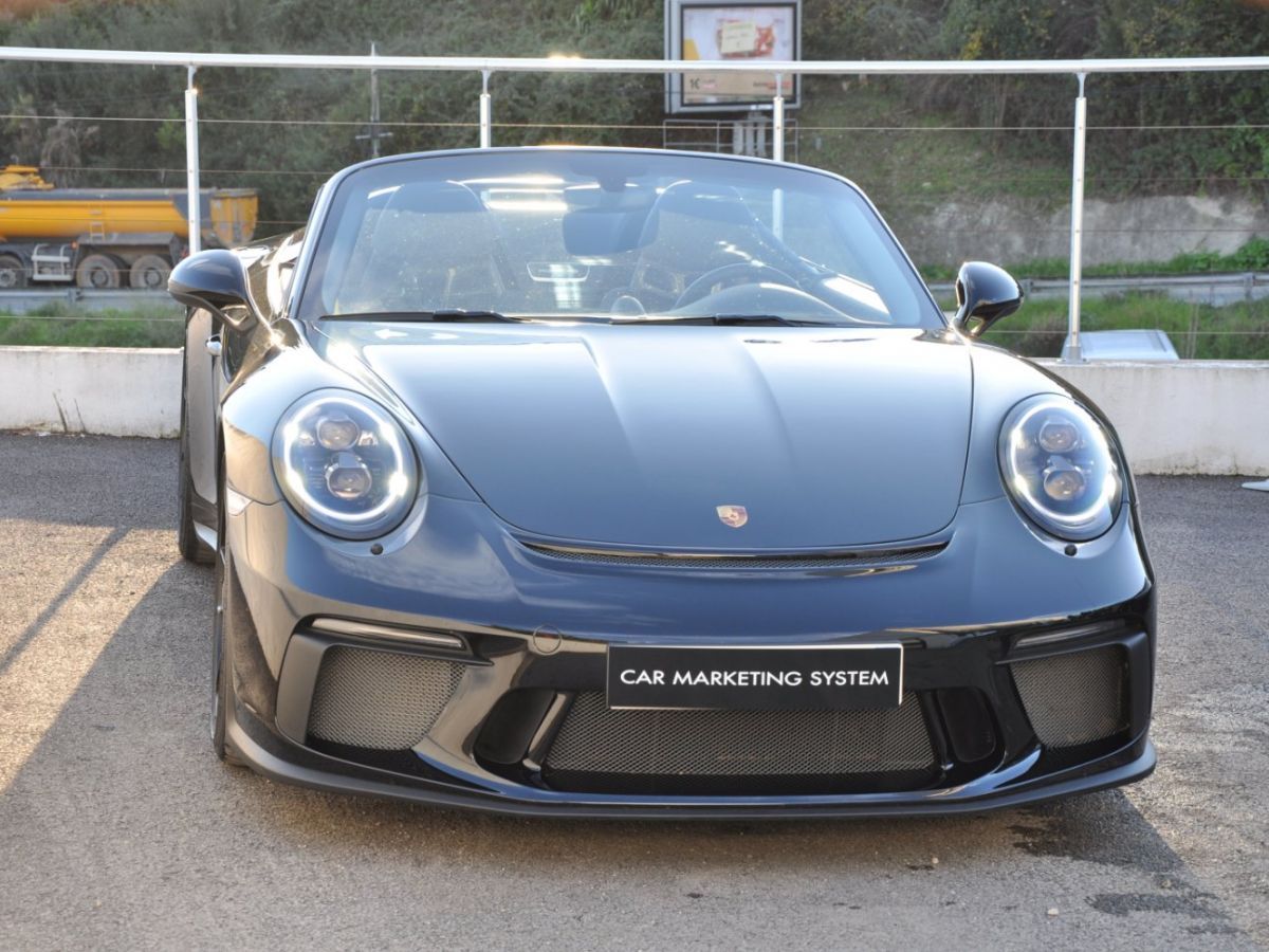 Porsche 911 991 (2) SPEEDSTER 4.0 Noir - 3