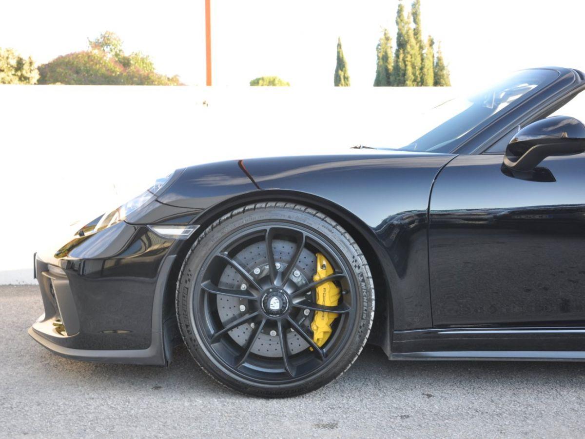 Porsche 911 991 (2) SPEEDSTER 4.0 Noir - 13