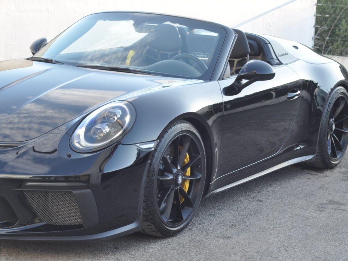 Porsche 911 991 (2) SPEEDSTER 4.0 Noir - 15