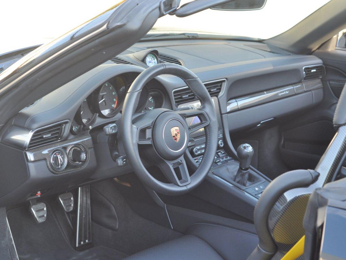 Porsche 911 991 (2) SPEEDSTER 4.0 Noir - 19