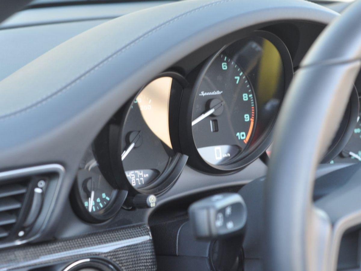 Porsche 911 991 (2) SPEEDSTER 4.0 Noir - 30