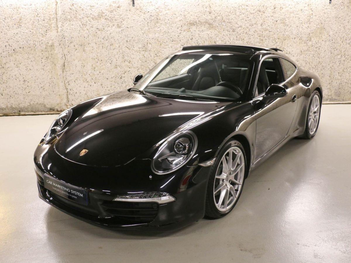 Porsche 911 (991) 3.4 350 CARRERA PDK Noir Métallisé - 2
