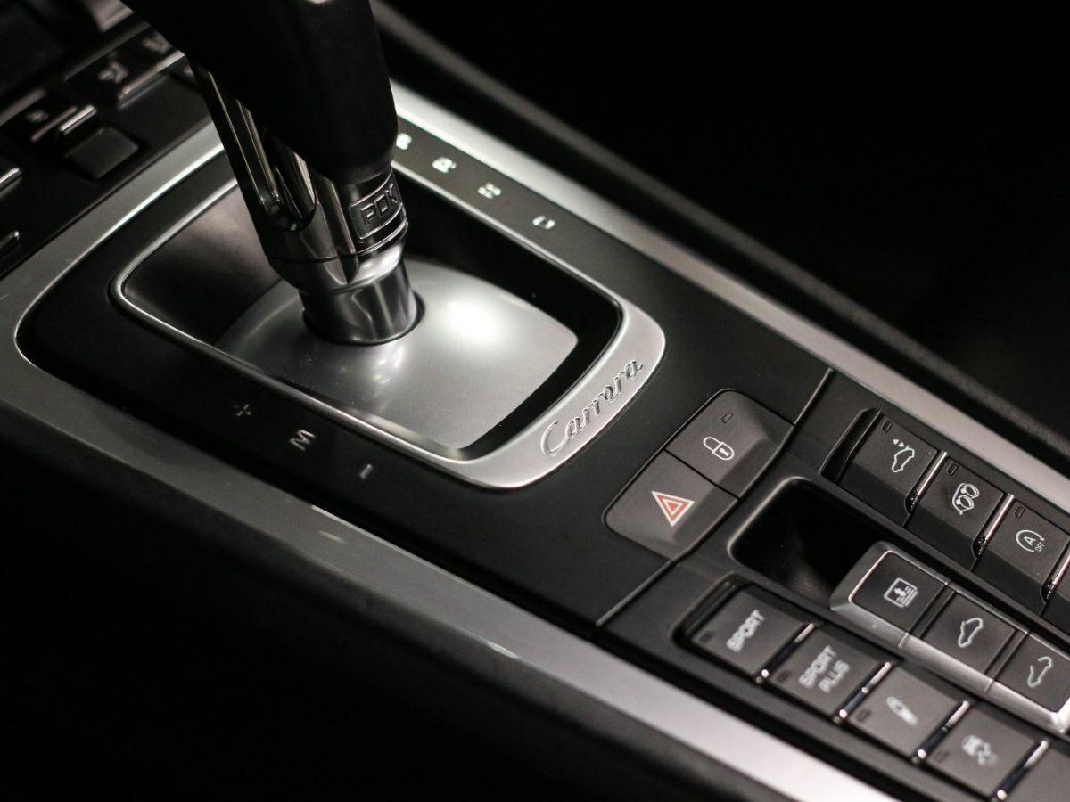 Porsche 911 (991) 3.4 350 CARRERA PDK Noir Métallisé - 18