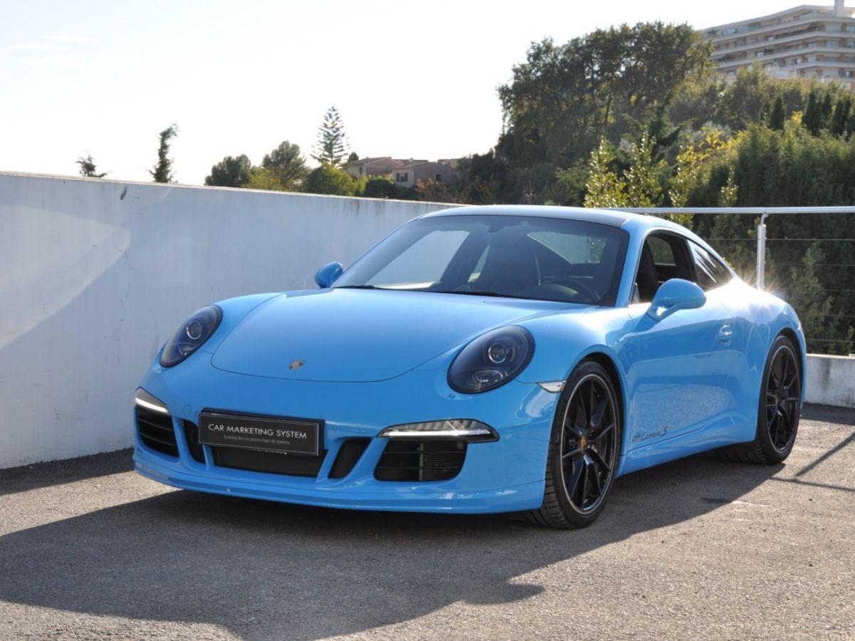 Porsche 911 991 Carrera S PDK Bleu - 1