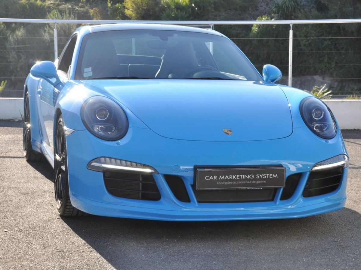Porsche 911 991 Carrera S PDK Bleu - 3