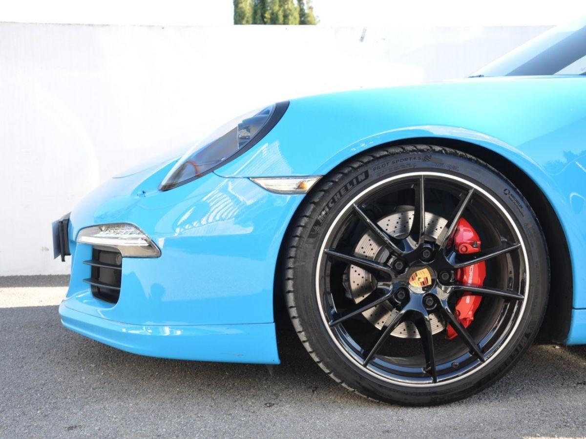 Porsche 911 991 Carrera S PDK Bleu - 10