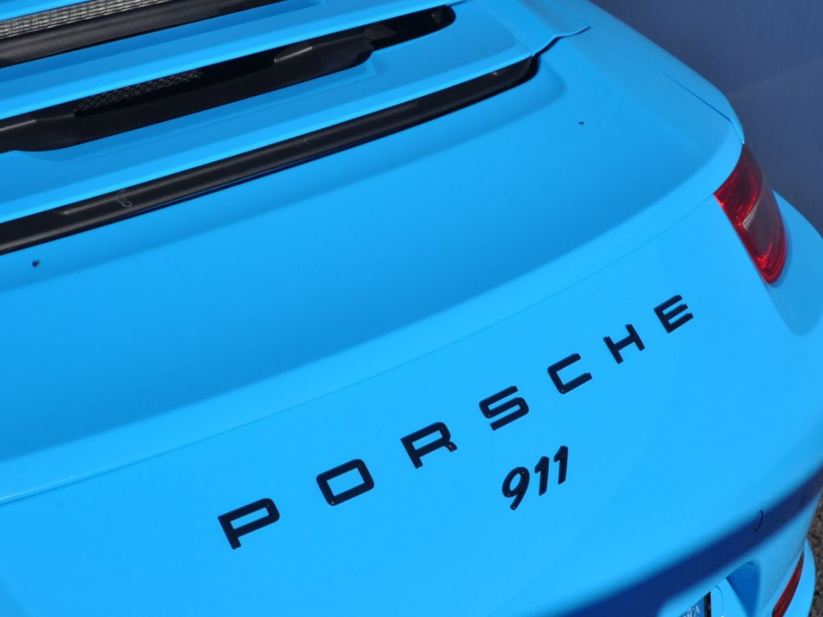 Porsche 911 991 Carrera S PDK Bleu - 33