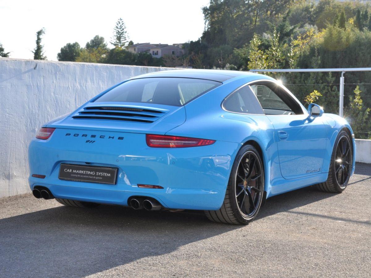 Porsche 911 991 Carrera S PDK Bleu - 5
