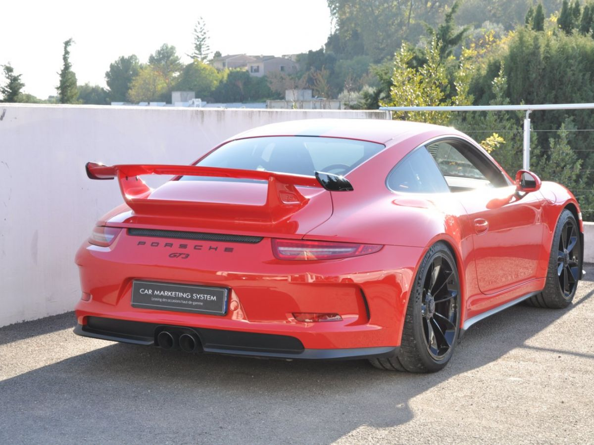 Porsche 911 991 GT3 3.8 PDK Rouge - 5