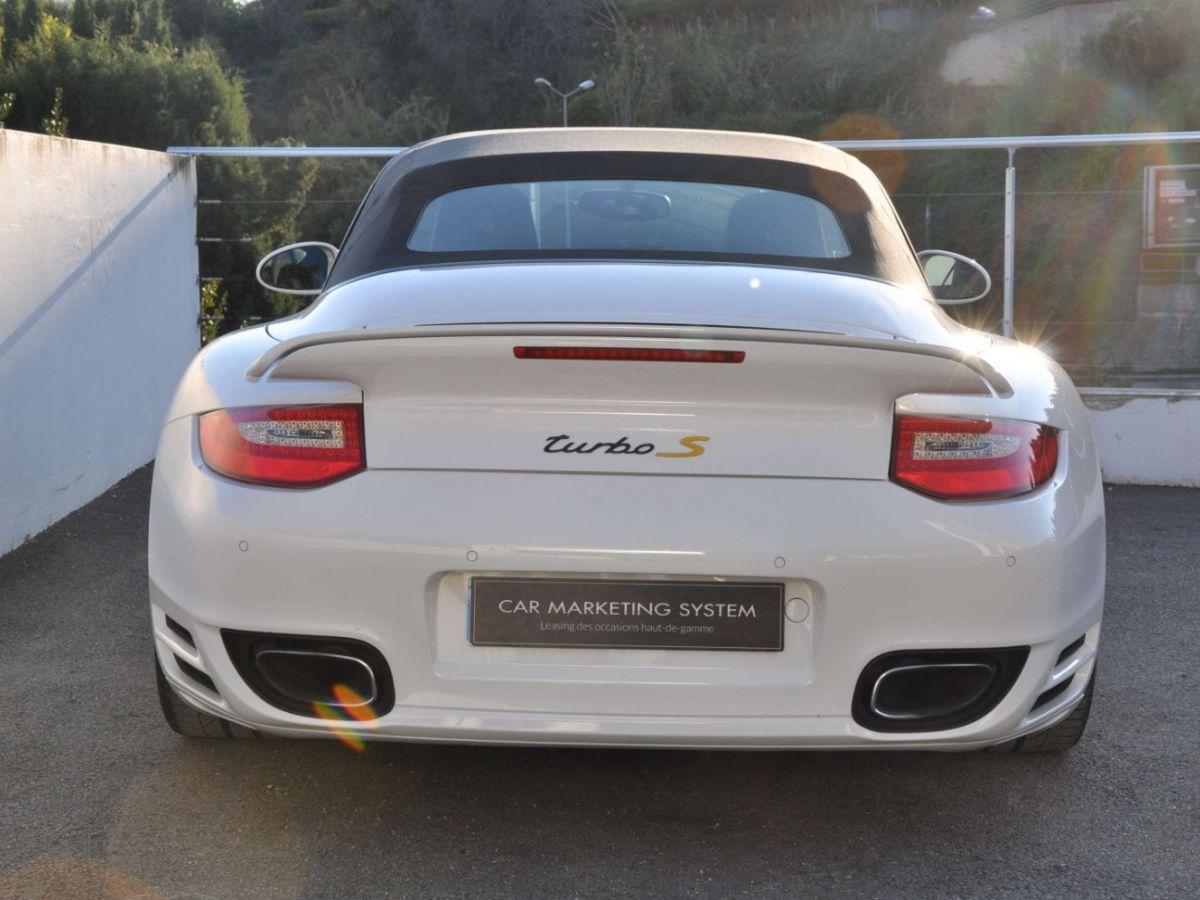 Porsche 911 997 (2) Turbo S 530ch PDK Blanc - 6