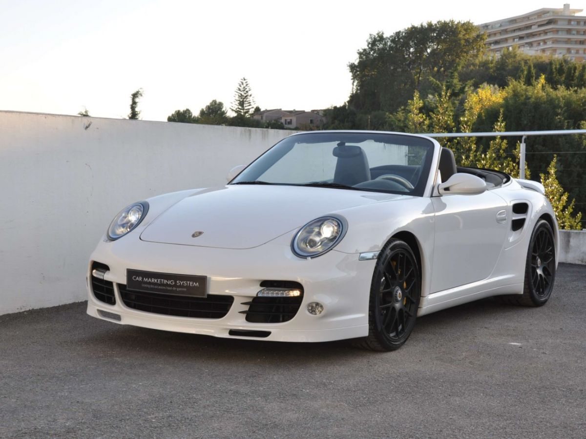 Porsche 911 997 (2) Turbo S 530ch PDK Blanc - 1