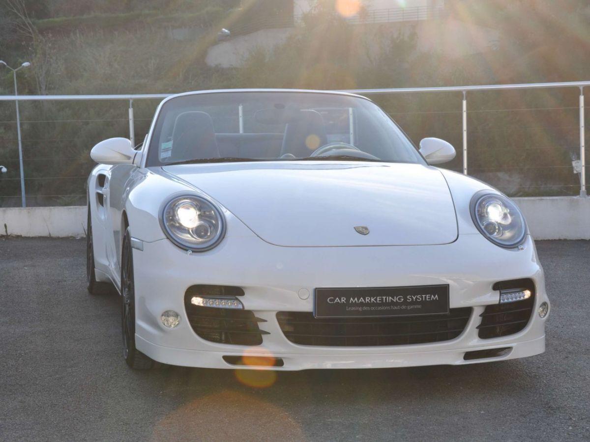 Porsche 911 997 (2) Turbo S 530ch PDK Blanc - 3