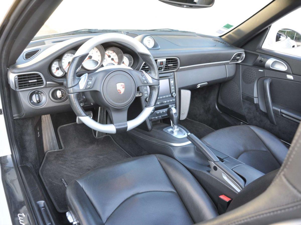 Porsche 911 997 (2) Turbo S 530ch PDK Blanc - 8