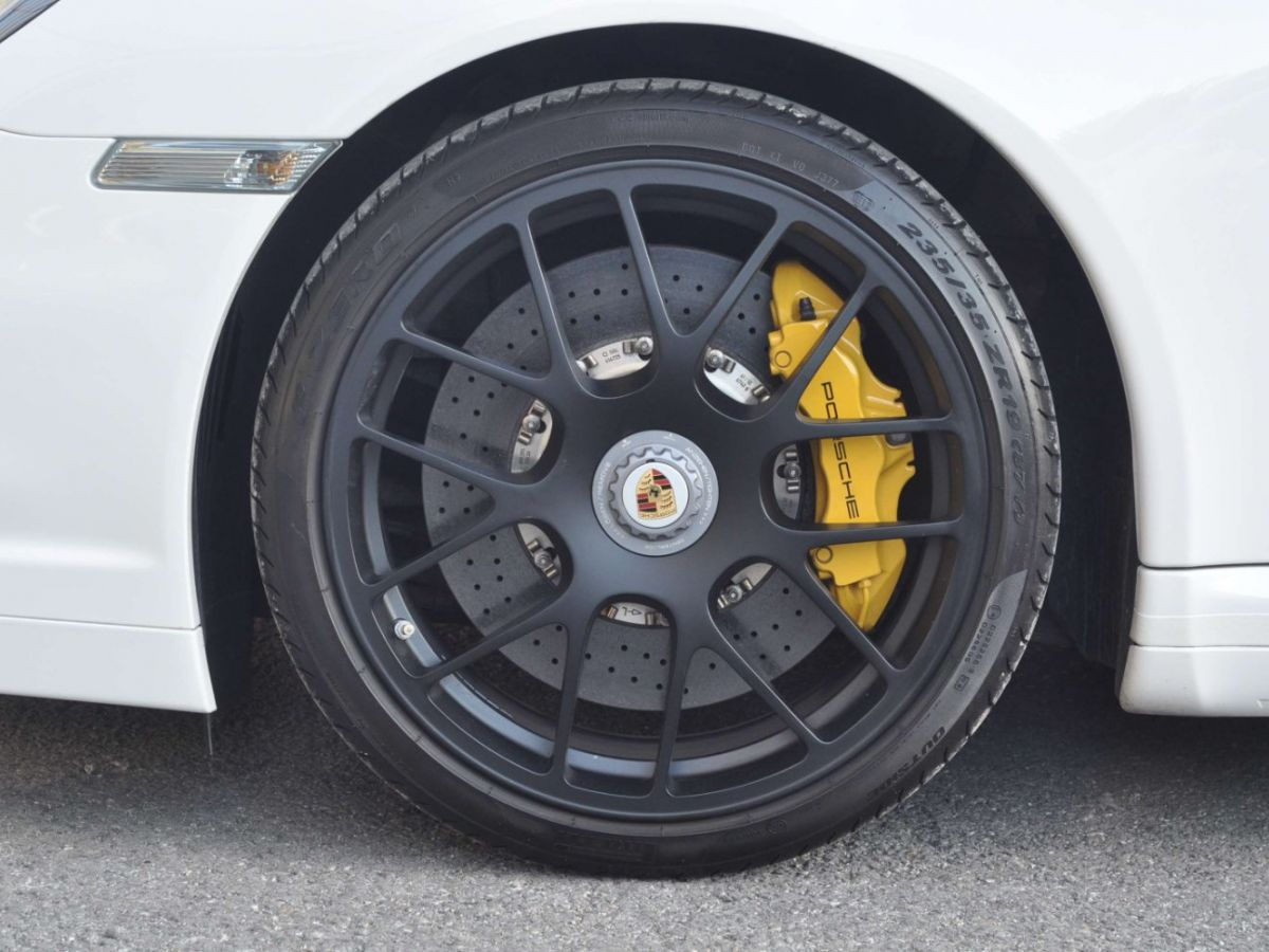Porsche 911 997 (2) Turbo S 530ch PDK Blanc - 16