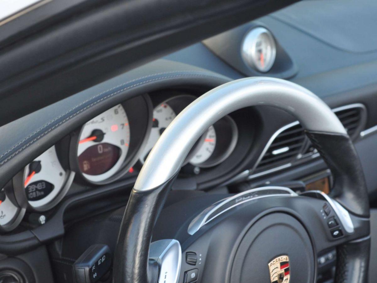 Porsche 911 997 (2) Turbo S 530ch PDK Blanc - 31