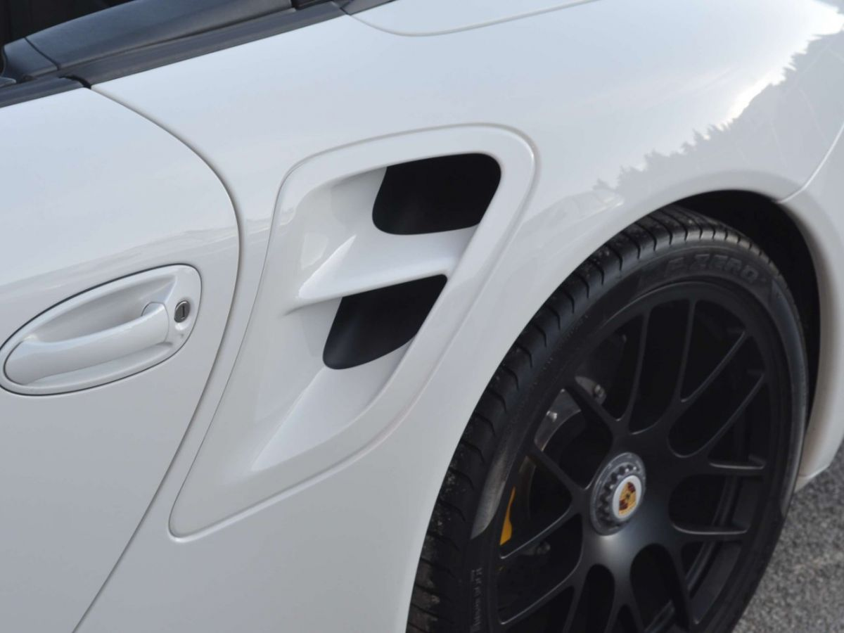 Porsche 911 997 (2) Turbo S 530ch PDK Blanc - 33