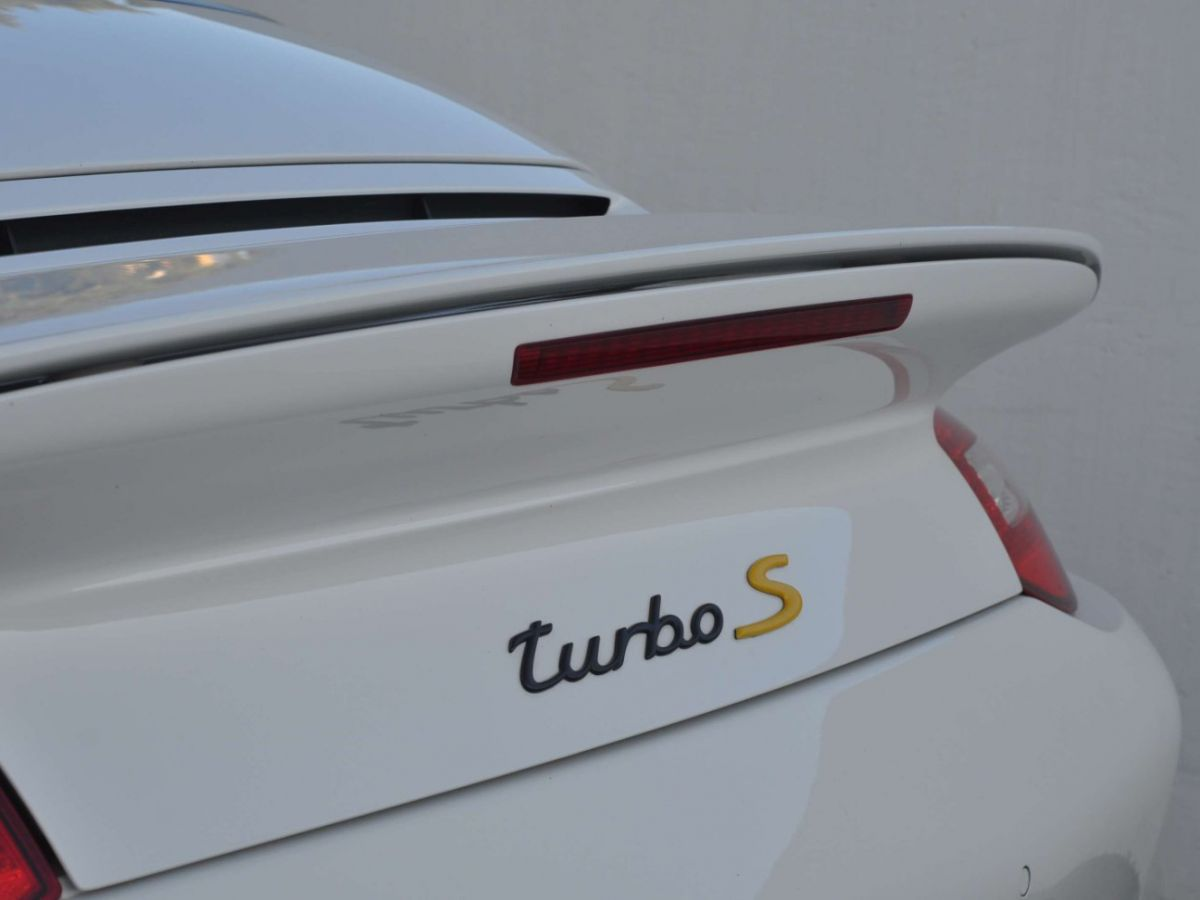 Porsche 911 997 (2) Turbo S 530ch PDK Blanc - 34