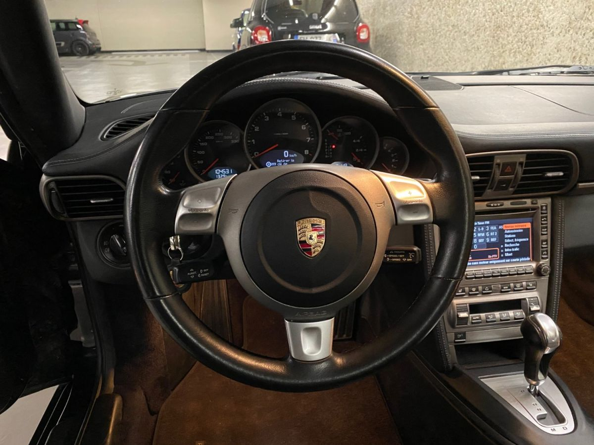 Porsche 911 (997) 3.6 325 CARRERA TIPTRONIC S Noir Métallisé - 17