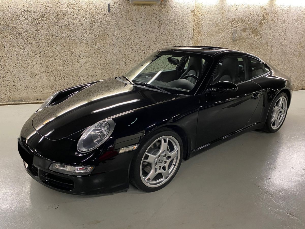 Porsche 911 (997) 3.6 325 CARRERA TIPTRONIC S Noir Métallisé - 1